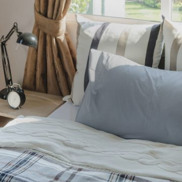 Vertical Stripes and Bedroom Design